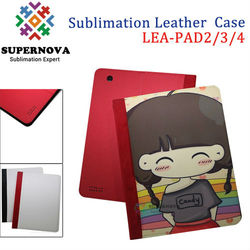 China Wholesale Sublimation Leather Cell Case for ipad 2