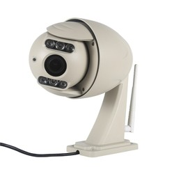 720P outdoor waterproof Dome Auto Zoom and Focus wifi wireless wanscam HW0044 P2P IP Camera