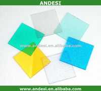Translucent polycarbonate sheet price with UV protection