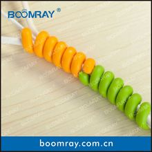 Hot Sale High Quality TPR Cable Winder Clip Rubber Holder Clamp plastic trim panel clips