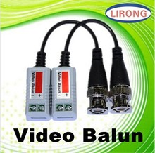 CCTV Camera Passive Video Balun BNC Connector Coaxial Cable Adapter