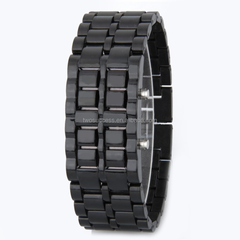 Lava LED chain watch (9)