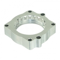 Precision CNC Lathe Silver Bullet Throttle Body Spacer