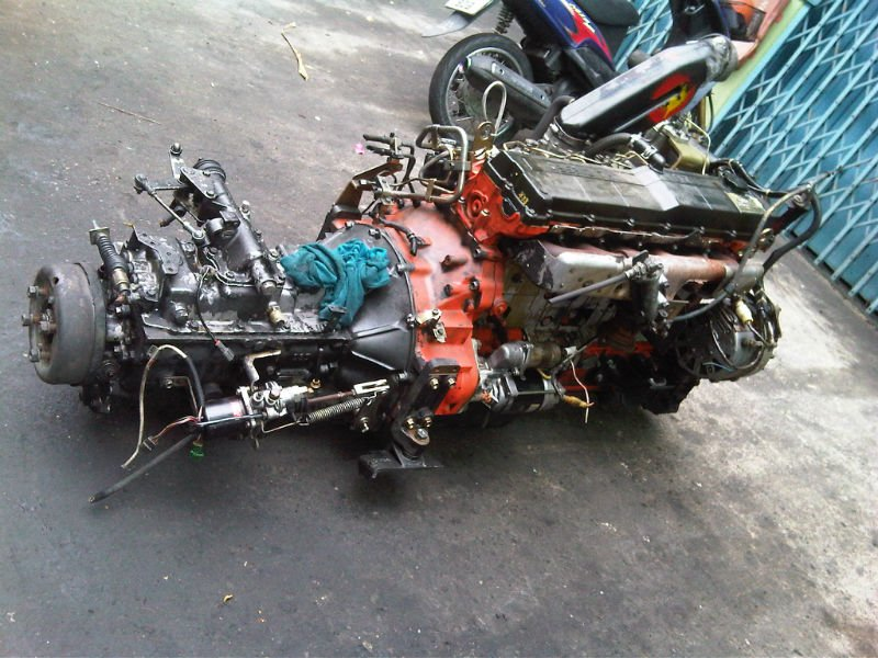 Used Diesel Engine Isuzu 6hh1 Buy Used Diesel Engine
