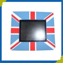Custom Square Rubberized PVC Photo Frame With Magnet