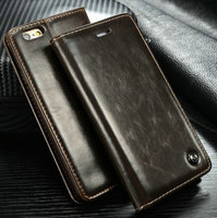 CaseMe phone case for iphone 6 Plus, Luxury PU Leather Case For iPhone 6 Plus