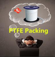 Moulded packing sealing ring/PTFE packing