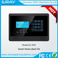 HOT Selling ! Spanish/Russian / France / Czech / Polish Voice prompt 99 Wireless & 7 Wired mobile call gsm alarm system