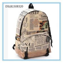 school bags, pu printed school bag, back to school