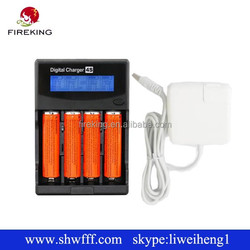 Newest H4 LCD Universal Li-ion/NiMH/ LiIFePO4 Battery Charger for 18650 26650 universal 18650 Charger