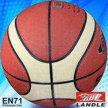 novel style Chinese pvc synthetic colorized basketball