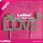 amor e casamento cake topper 5x12cm ct1001