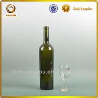 Fancy 750ml screw top glass wine bottle ship to usa