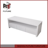 Wooden Tv stand free standing cabinet drawer