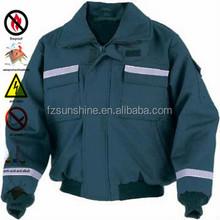 2015 Reflective Men Plain Bomber Jacket wholesale