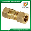 JD-1914 Compression Straight Union Connector Pipe Fitting