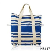h6117 de yute bolsas de lona bolsa de impresión digital al por mayor