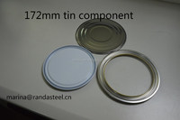 108mm Tinplate Component - Lid- Ring- Bottom for Paint Cans