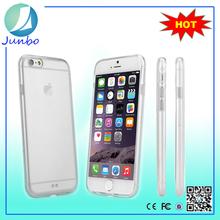 Clear Hard back pc bumper TPU Case For iPhone 6