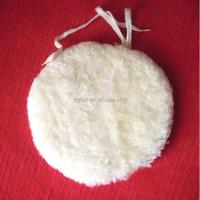 sheep skin buffing , woolen pad
