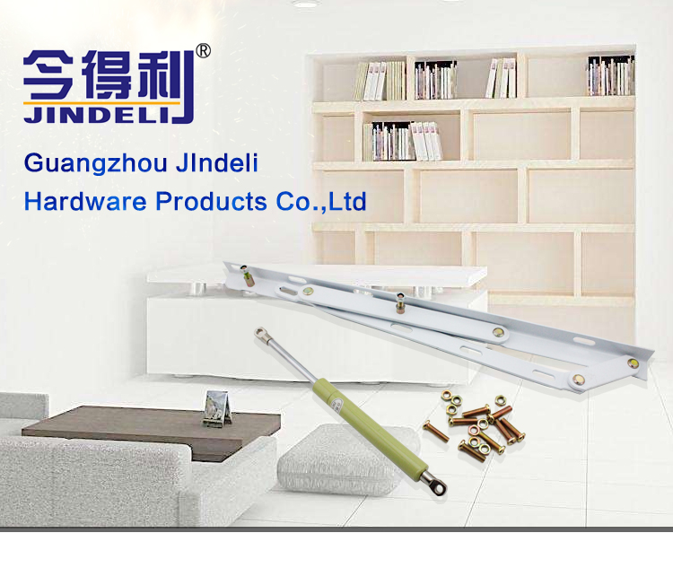 wholesale easy lift 100n adjustable cross reference storage gas spring for wall bed