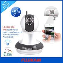 P2P IP CCTV WiFi Doorbell Camera HD Ir-cut Night Vision Two Way Audio Onvif Software Download Webcam