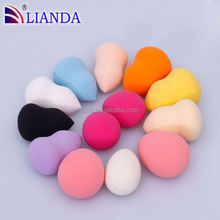 New product in market free Latex make up tool multi-knobs smudger cosmetic sponge