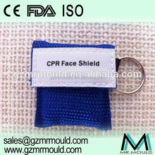 plastic face shield with safety helmet