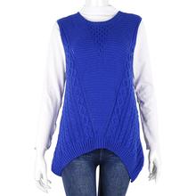 2015 Fashion leisure joker round collar sleeveless vest