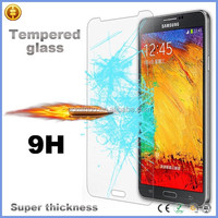 Wholesale mobile phone protective LCD screen protector film tempered glass screen protector for Samsung Galaxy Note 3