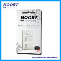 Nice 3 in 1 Noosy Nano Micro Standard SIM Card Adapter Kit