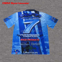 Motorcycle & auto racing sports wear t shirt for club