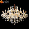 contemporary candle chandelier lighting OMC027-12+6