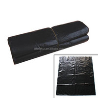 designer print large black colour plastic garbage bag