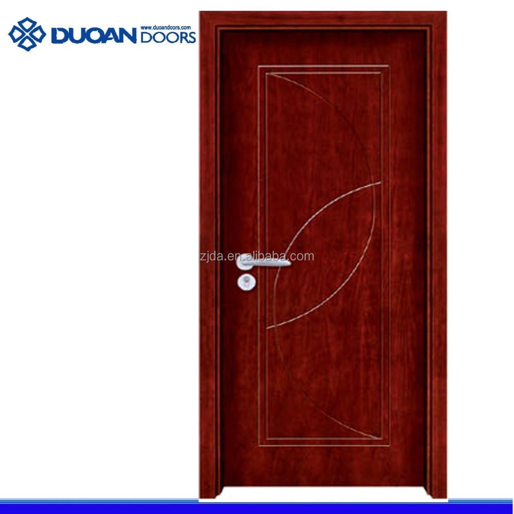 Solid wood entry model main door with painting (DA-A112)