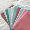 40s*40s 133*72, printed cotton twill fabric, polka dots printing