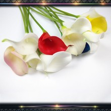 pu material calla lily artificial flowers