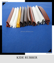 slot type pvc/TPE/Silicone rubber seal strip for door and window