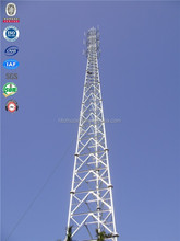 Steel telecommunication gsm antenna cellular mobile towers china factory