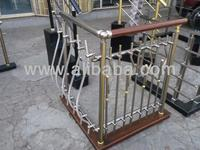 Aluminum rails for staircase, balcony, swimming pool deck for homes & commercial building