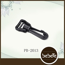 High Quality bag accessories black plastic buckle