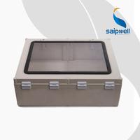 SAIP/SAIPWELL High Quality 500*400*190mm Transparent Customized Plastic Enclosure Electronic