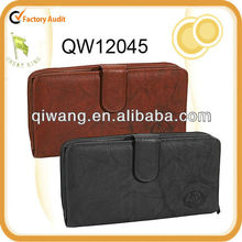 2013 fancy leather cover for checkbook