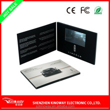 Best and High - end 2.8/4.3/5.0/7.0/10.1 inch video greeting card