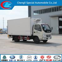 China made medication refrigerator truck high quality reefer truck good price freezer box truck