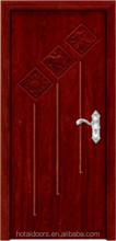 Usa Design Hot Sale Luxurious 100% Carved Solid Wood Door In China-SCW-67