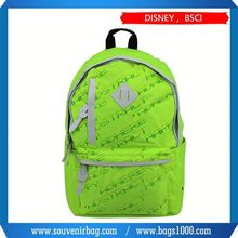 2015 new product fashion trend backpack,oem silk screen nylon backpack,17 inch computer backpack