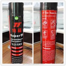Dongguan embroidery adhesive TF99 spray glue