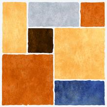 Nuovo design materiale da costruzione fiore modello mattonelle di pavimento di ceramica, batroom piastrelle