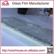 Impresso decorativo filme de janela porta de vidro decorativo adesivos